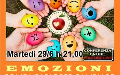 Emozioni – conferenza on line – Martedì 29 giugno 2021 alle 21