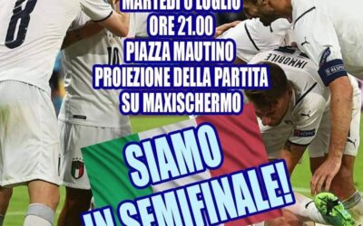 Semifinale Europei di Calcio  – martedì 6 luglio 2021 alle 21