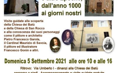 Due visite guidate alle Chiese dei Batù e di San Rocco – domenica 5 settembre 2021