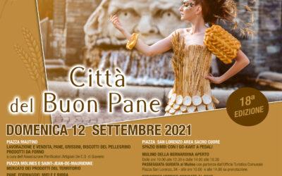 Giaveno Città del Buon Pane – 18° edizione – domenica 12 settembre  2021
