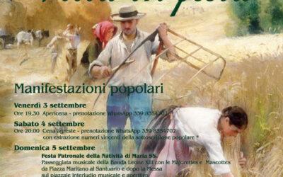 Festa della Madonna del Bussone – borgata Villa e Sabbioni – 3/4/5/6 settembre 2021