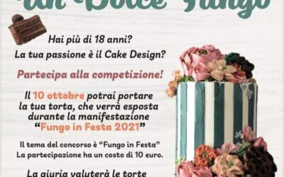 Un dolce fungo  – 1° Concorso di cake design