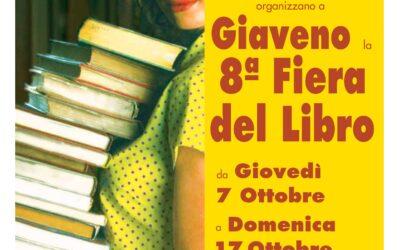 8° Fiera del Libro a Giaveno – da giovedì 7 a domenica 17 ottobre 2021