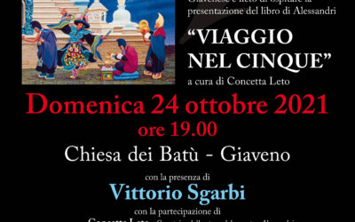 Vittorio Sgarbi a Giaveno  domenica 24 ottobre 2021 alle 19
